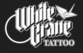 White Crane Tattoo
